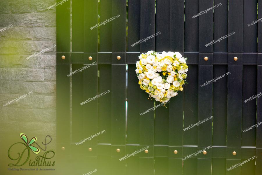 trang trí nhà ngày cưới 2