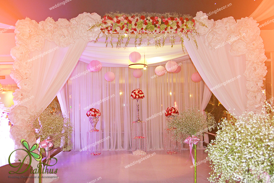 Dianthus Wedding Decor 05