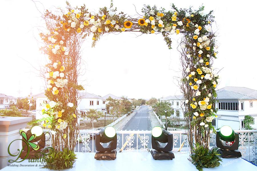 trang trí tiệc cưới 5