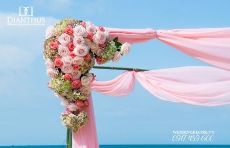 trang trí tiệc cưới Dianthus Wedding Decor 15