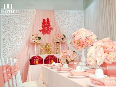 trang trí tiệc cưới Dianthus Wedding Decor 10