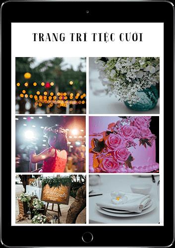 trang trí tiệc cưới Dianthus Wedding Decor 03