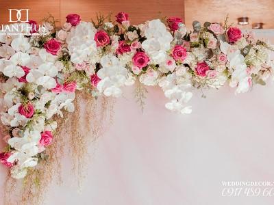 Các chất liệu làm backdrop? Backdrop đám cưới nên sử dụng chất liệu nào 7