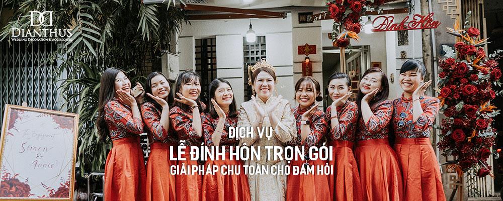 Dịch Vụ Lễ Đính Hôn Trọn Gói Tại TP.HCM.